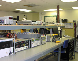 A Section of our Electrical Calibration Lab