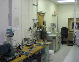 Our torque calibration system, environmental chamber, and part of our pressure lab